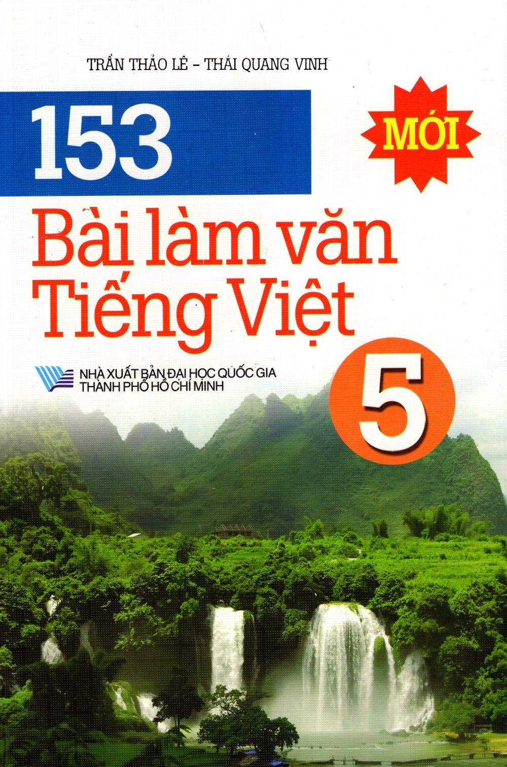 153 Bài Làm Văn Tiếng Việt Lớp 5