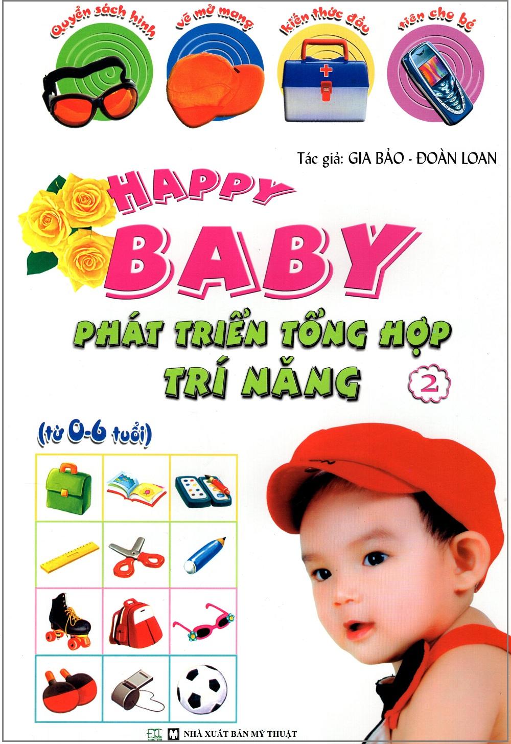 Happy Baby: Phát Triển Tổng Hợp Trí Năng (Tập 2)