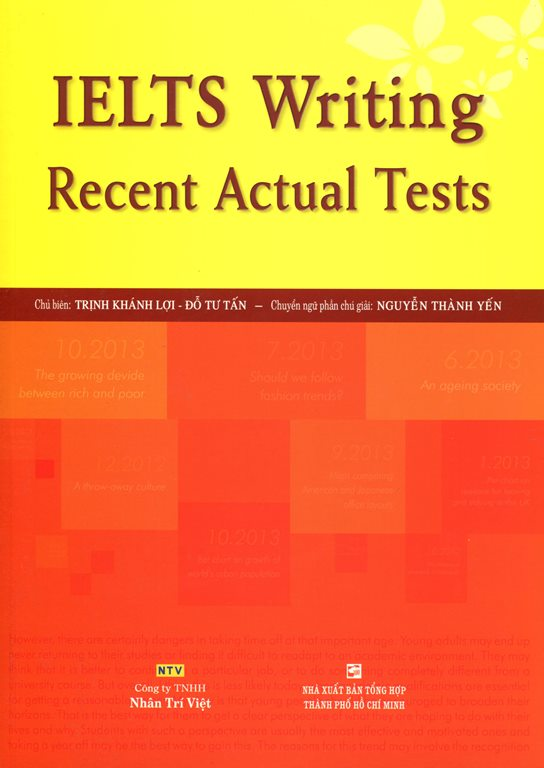 IELTS Writing Recent Actual Tests (Không CD) - 18218712 , 5502199333136 , 62_20485330 , 288000 , IELTS-Writing-Recent-Actual-Tests-Khong-CD-62_20485330 , tiki.vn , IELTS Writing Recent Actual Tests (Không CD)