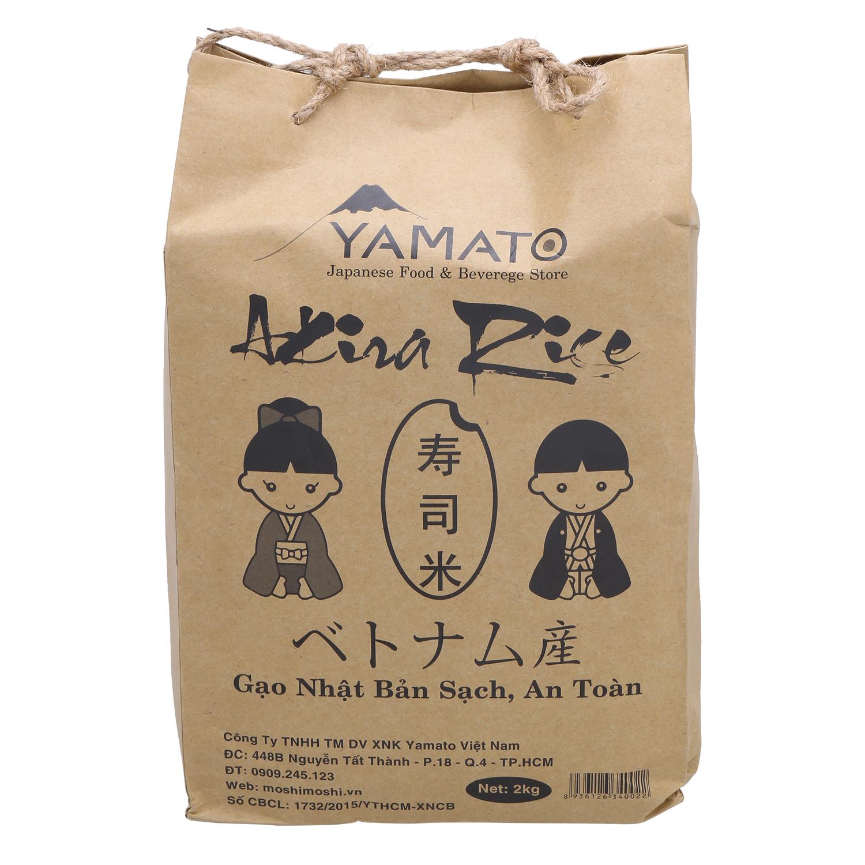 Gạo Nhật Akira Rice 2Kg