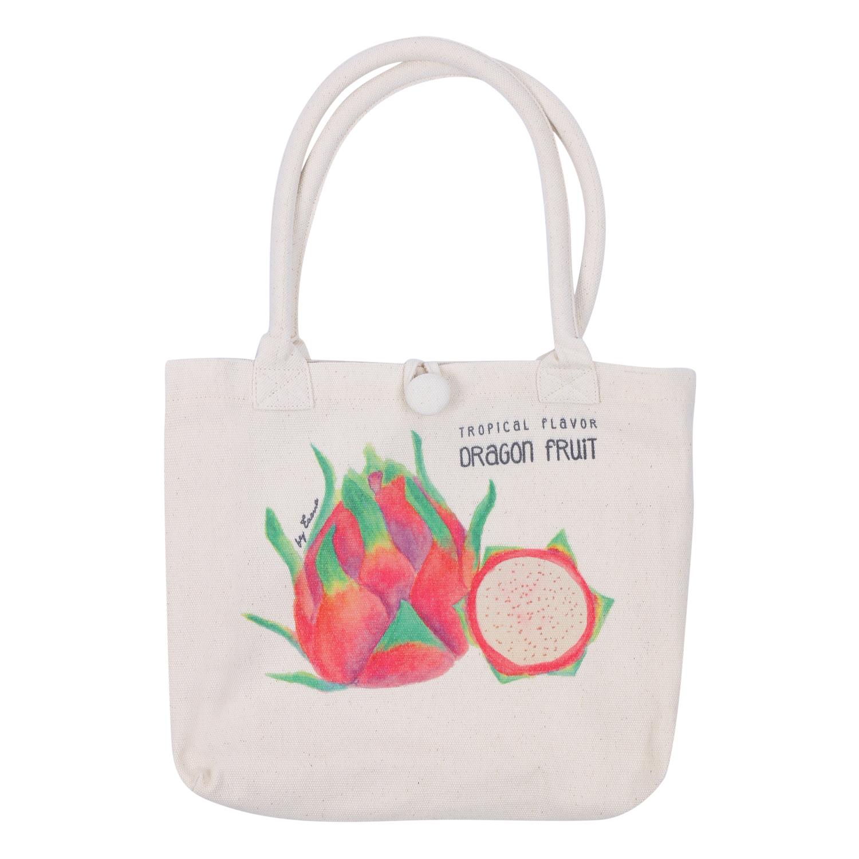 Túi Xách Quai Bố Nhỏ - Dragon Fruit - Tuibn0000002