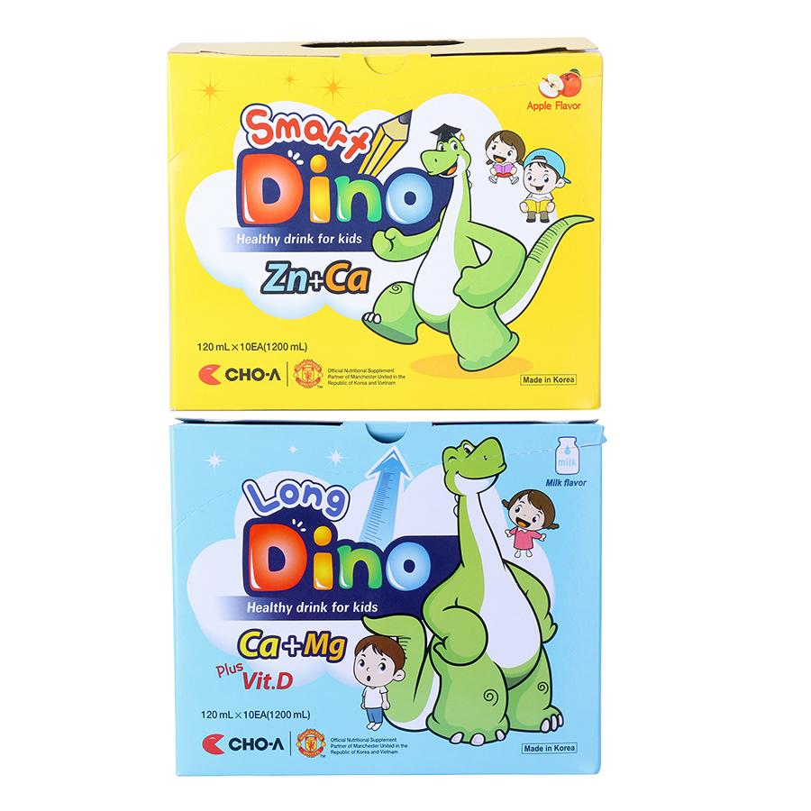 Combo Nước Uống Dinh Dưỡng Dành Cho Trẻ Em Smart Dino + Long Dino (20 Gói x 120ml) - 9407627 , 3691312998092 , 62_653959 , 400000 , Combo-Nuoc-Uong-Dinh-Duong-Danh-Cho-Tre-Em-Smart-Dino-Long-Dino-20-Goi-x-120ml-62_653959 , tiki.vn , Combo Nước Uống Dinh Dưỡng Dành Cho Trẻ Em Smart Dino + Long Dino (20 Gói x 120ml)