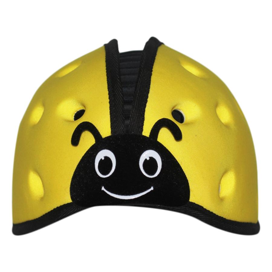 Mũ Bảo Vệ Đầu Cho Bé Mumguard Hình Bọ Cánh Cam (40 - 52 cm)  - Vàng