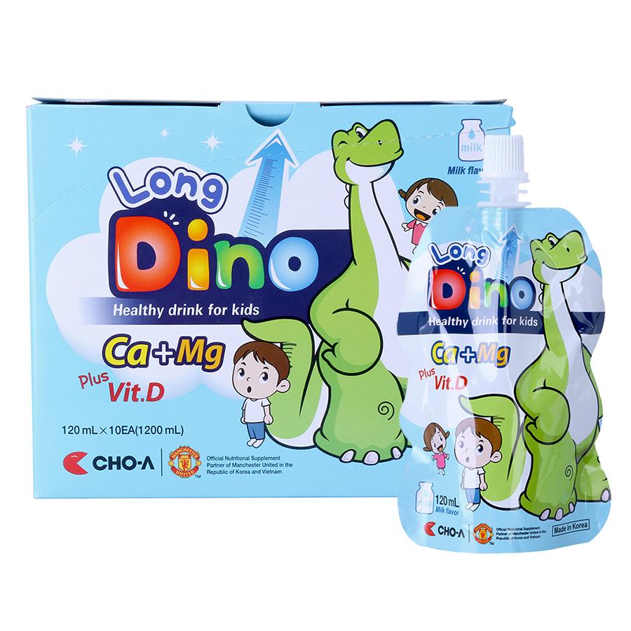 Nước Uống Dinh Dưỡng Vị Sữa Dành Cho Trẻ Em Long Dino (10 Gói x 120ml) - 18239541 , 3690603573505 , 62_653957 , 200000 , Nuoc-Uong-Dinh-Duong-Vi-Sua-Danh-Cho-Tre-Em-Long-Dino-10-Goi-x-120ml-62_653957 , tiki.vn , Nước Uống Dinh Dưỡng Vị Sữa Dành Cho Trẻ Em Long Dino (10 Gói x 120ml)