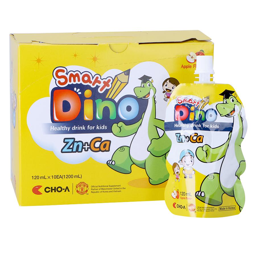 Nước Uống Dinh Dưỡng Vị Táo Dành Cho Trẻ Em Smart Dino (10 Gói x 120ml) - 9407626 , 3692025172113 , 62_653958 , 200000 , Nuoc-Uong-Dinh-Duong-Vi-Tao-Danh-Cho-Tre-Em-Smart-Dino-10-Goi-x-120ml-62_653958 , tiki.vn , Nước Uống Dinh Dưỡng Vị Táo Dành Cho Trẻ Em Smart Dino (10 Gói x 120ml)