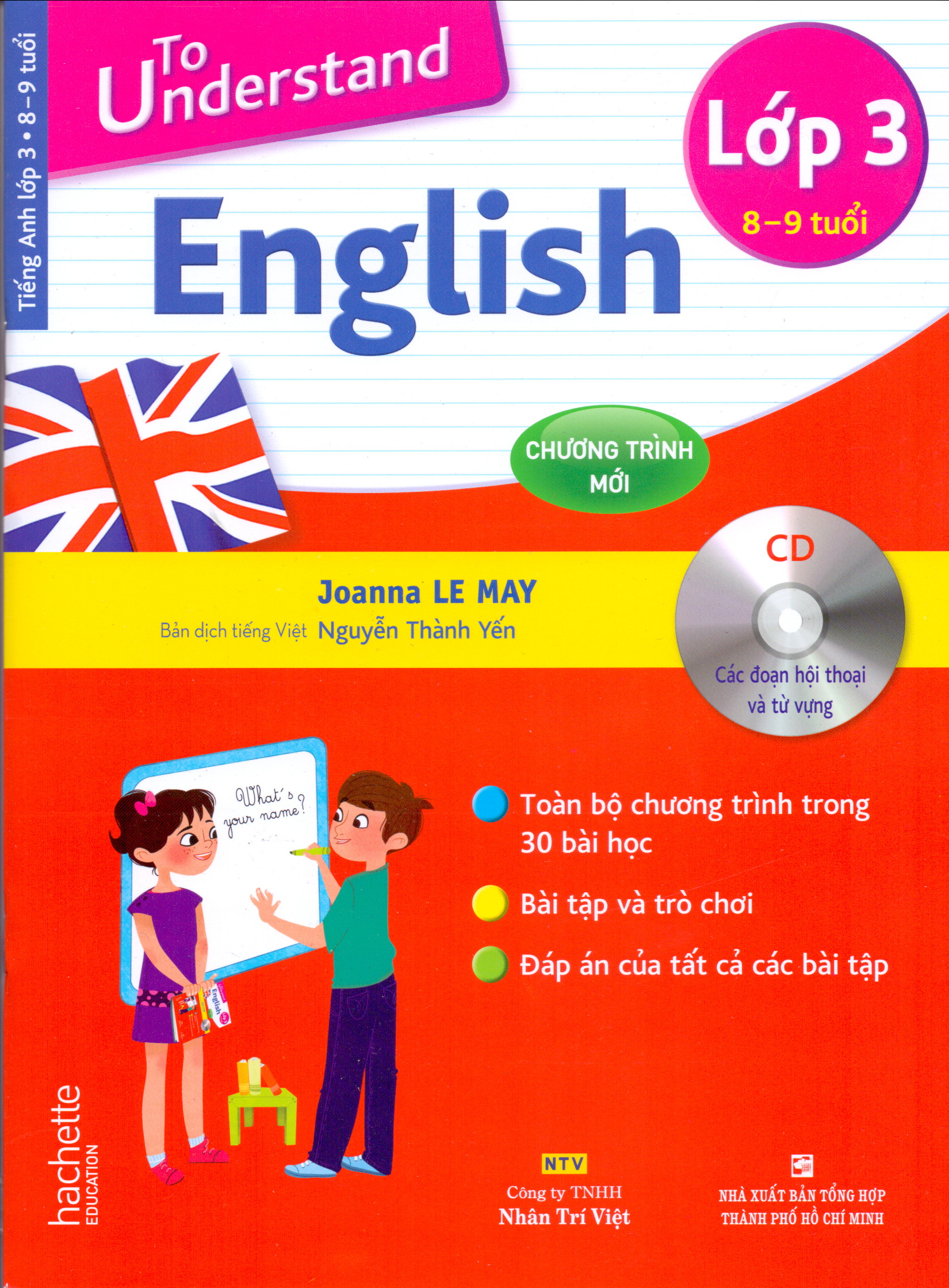 To Understand English Lớp 3 + 1CD