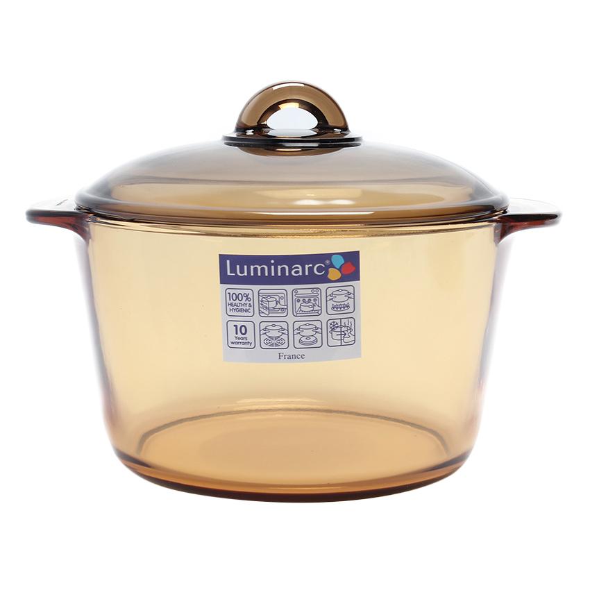 Nồi Thủy Tinh Luminarc Vitro Amberline (3L)