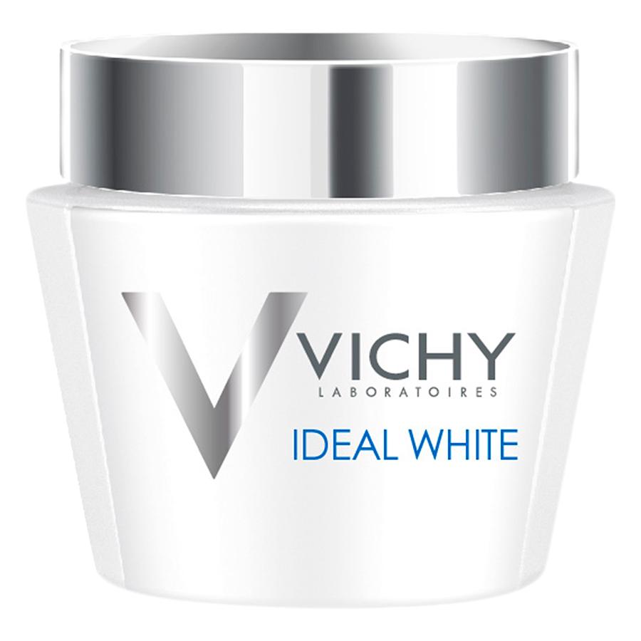 Kem Dưỡng Trắng Da Ban Đêm - Mặt Nạ Ngủ Vichy Ideal White Sleeping Mask 100854588 (75ml)