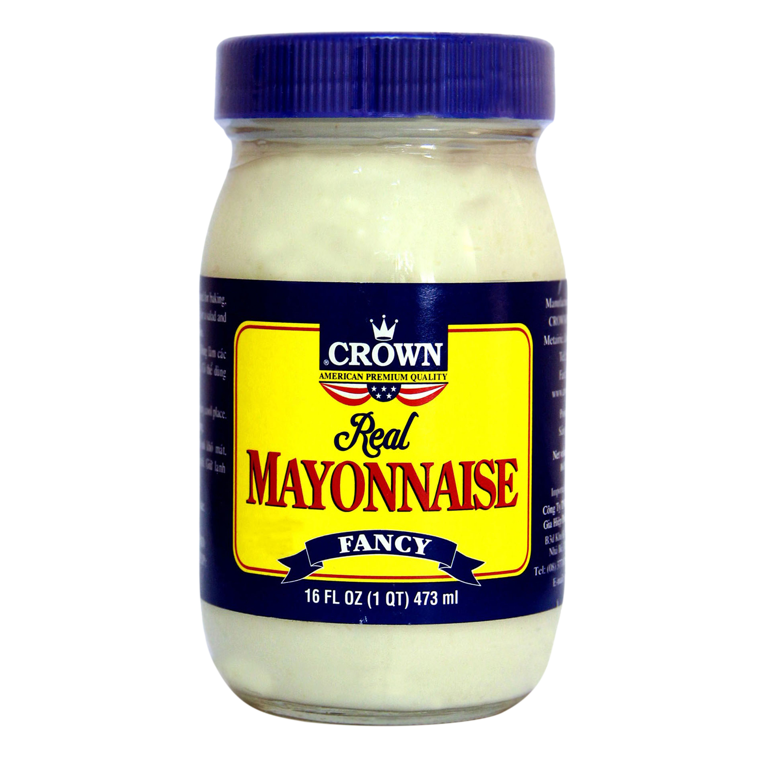 Sốt Mayonnaise Crown Hộp 473ml