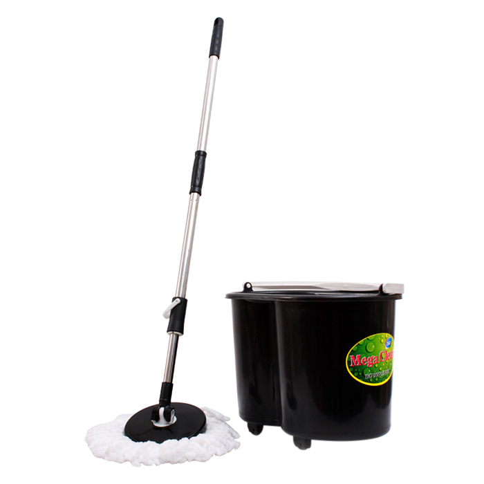 Bộ Lau Nhà Mega Clean OMBO-06 - Màu Đen - 18228318 , 8066024392769 , 62_15869196 , 250000 , Bo-Lau-Nha-Mega-Clean-OMBO-06-Mau-Den-62_15869196 , tiki.vn , Bộ Lau Nhà Mega Clean OMBO-06 - Màu Đen