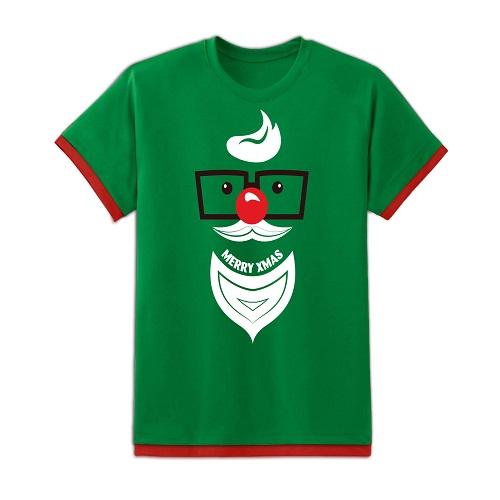 Áo Giáng Sinh Kibu Nam - Ông Noel Mắt Kính - AL6