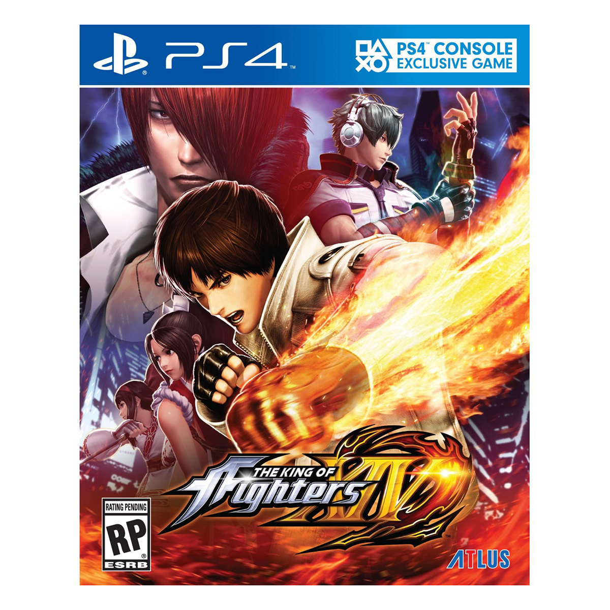 Đĩa Game Sony PS4 The King Of Fighters XIV
