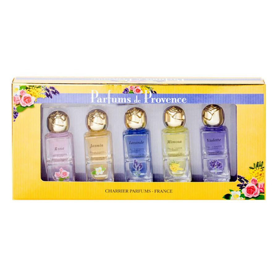 Bộ 5 Chai Nước Hoa Parfums De Provence Charrier Parfums PP5