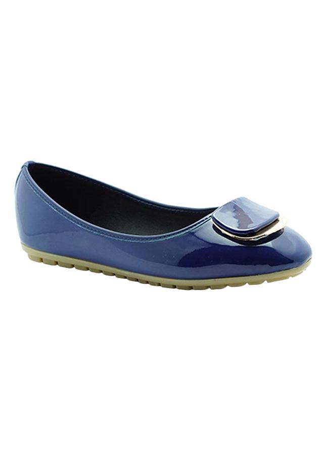 Giày Búp Bê Mũi Tròn Princess PRIN36AD - Xanh