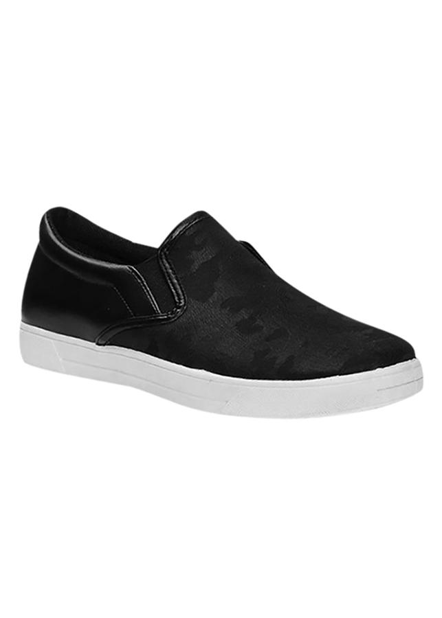 Giày Lười Nam POSA PSTK002 - Đen