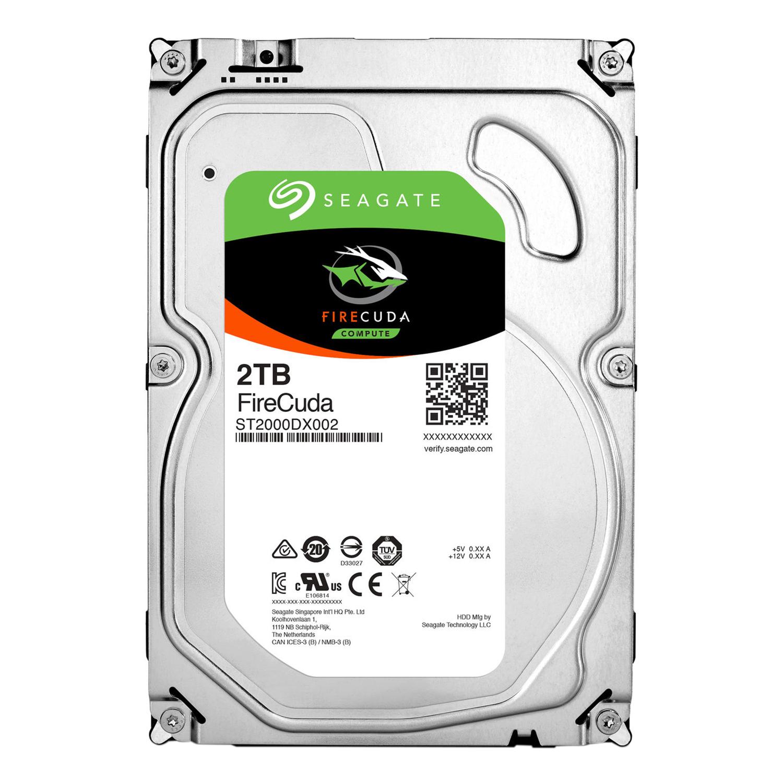 Ổ Cứng HDD Seagate FireCuda 2TB/8GB/3.5 - ST2000DX002