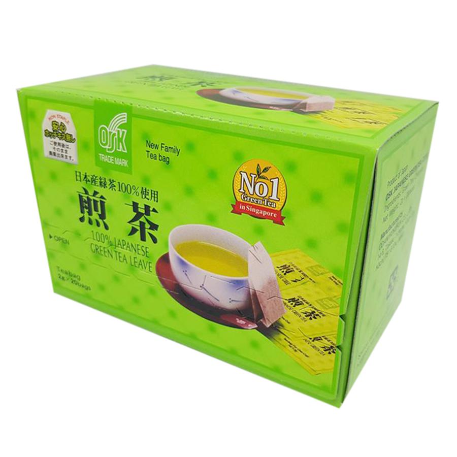 Trà Xanh Túi Lọc OSK 100% Japan Greentea TX20P (2g x 20 Gói)