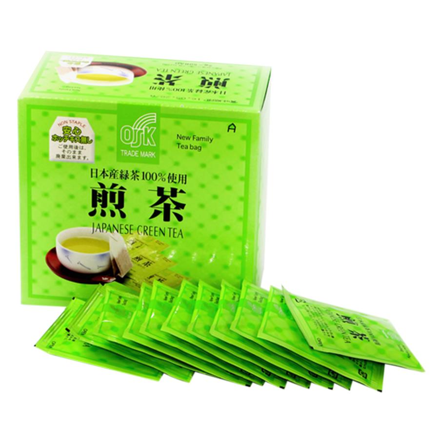 Trà Xanh Túi Lọc OSK 100% Japan Greentea TX50P (2g x 50 Gói)