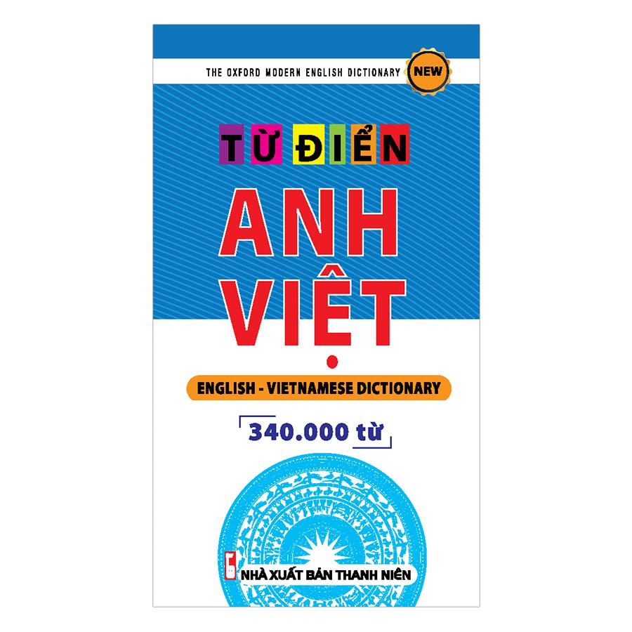 Từ Điển Anh - Việt 340.000 Từ
