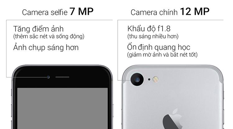 Điện Thoại iPhone 7 32GB - Hàng Chính Hãng