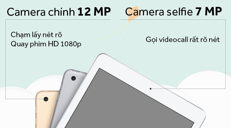 Máy Tính Bảng iPad Pro 12.9inch Wi-Fi Cellular 64GB (2017) - Hàng Chính Hãng