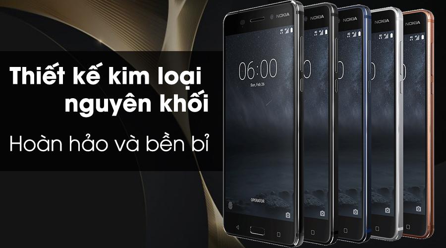 Điện Thoại Nokia 6 - Hàng Chính Hãng