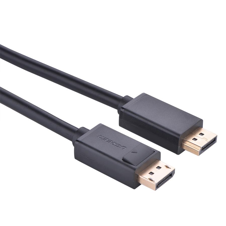 Cáp Displayport To Displayport Ugreen DP102 10213 (5m) - Đen - Hàng Chính Hãng