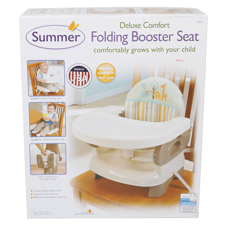 Ghế Ăn Deluxe Kẻ Summer Infant - SM13050