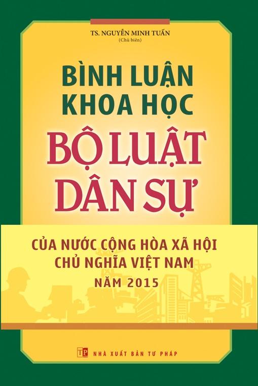 Bình Luận Khoa Học Bộ Luật Dân Sự Của Nước Cộng Hòa Xã Hội Chủ Nghĩa Việt Nam Năm 2015