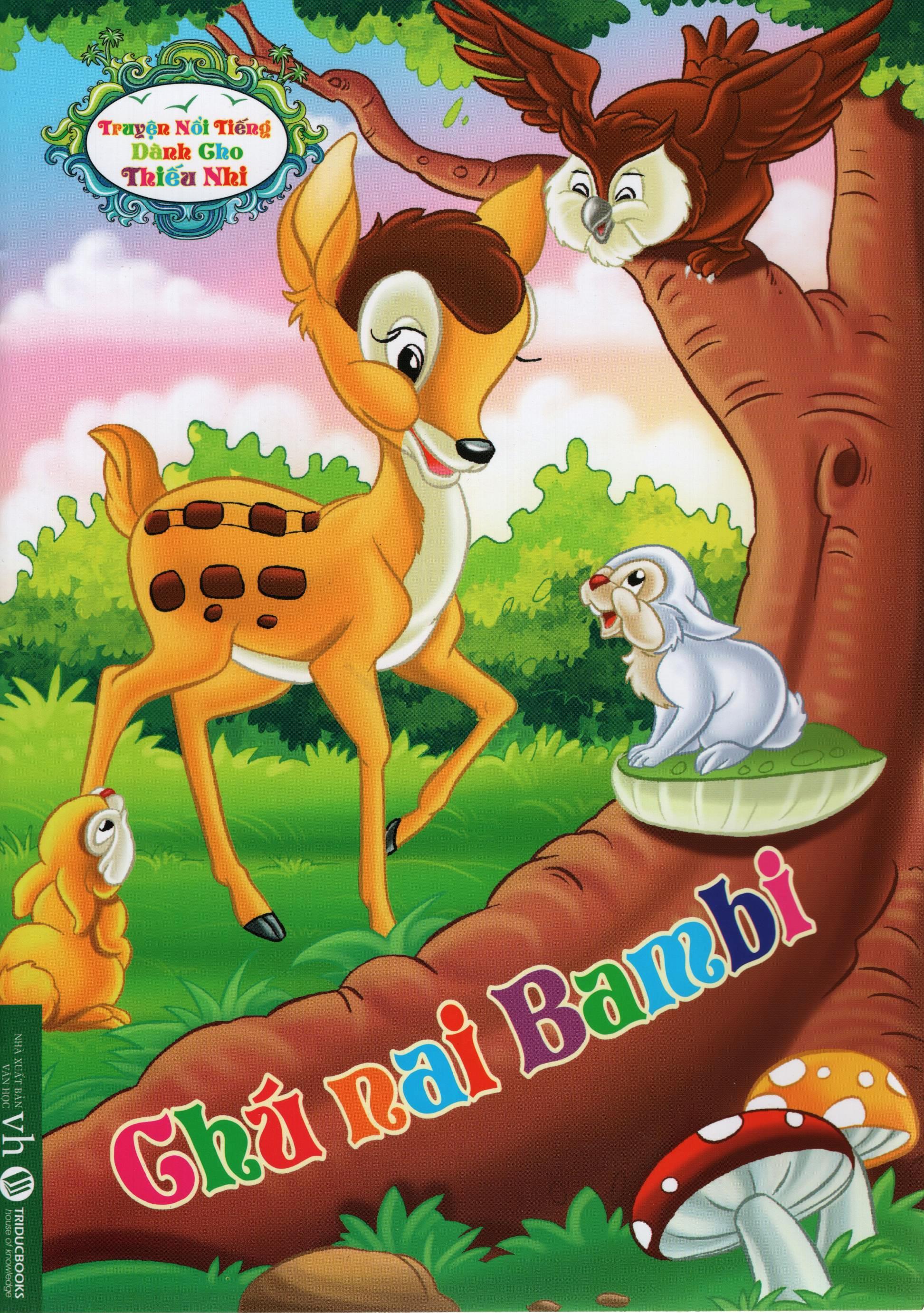 Truyện Nổi Tiếng Dành Cho Thiếu Nhi – Chú Nai Bambi