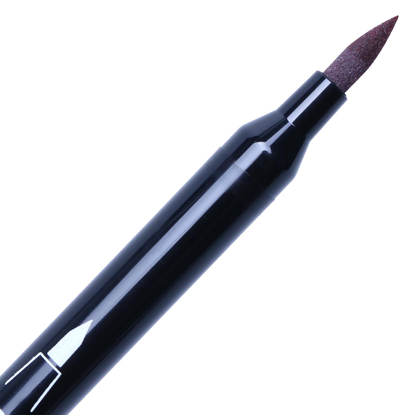 Bút Lông Hai Đầu Marvy 1122 No.6 - Brown