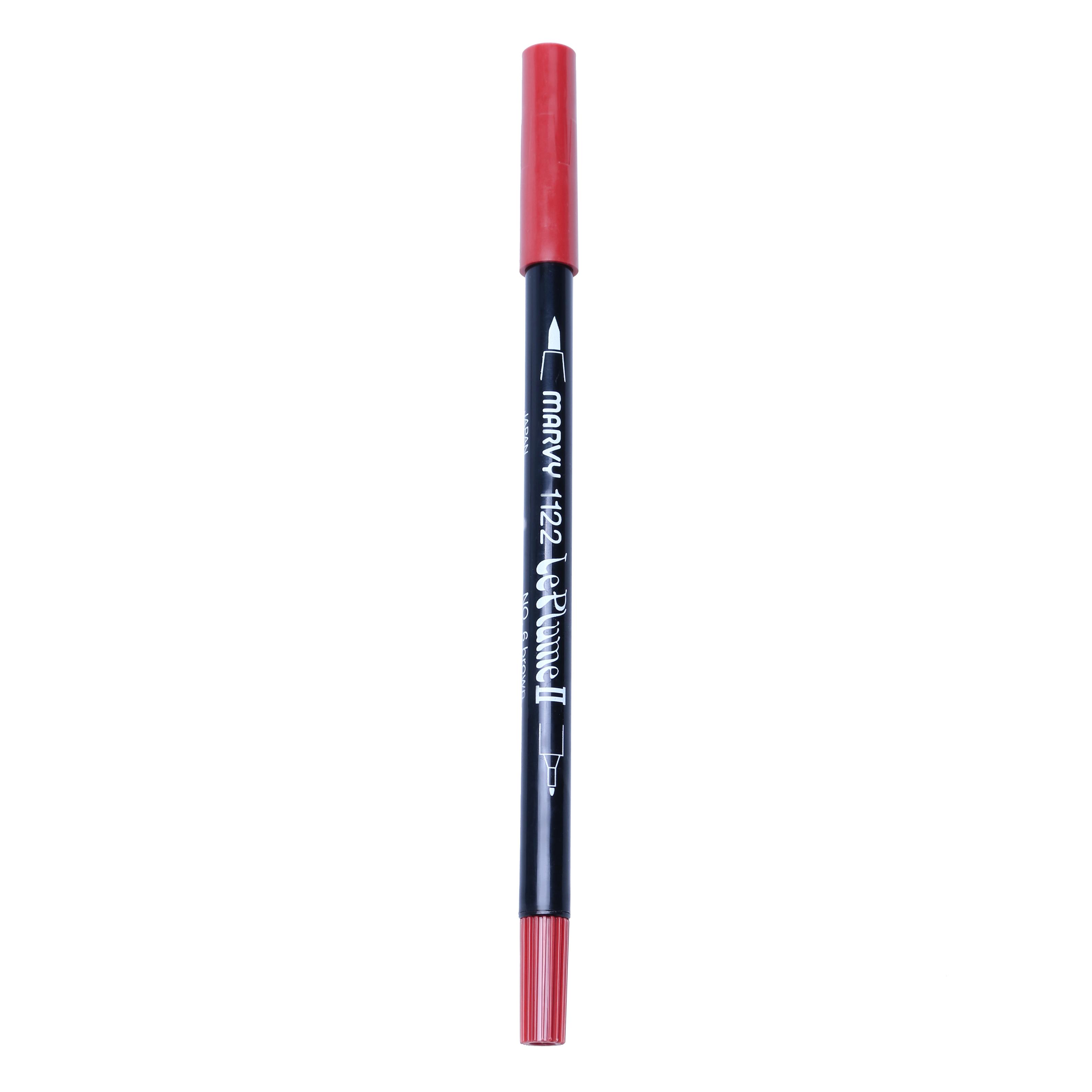 Bút Lông Hai Đầu Marvy 1122 No.28 - English Red