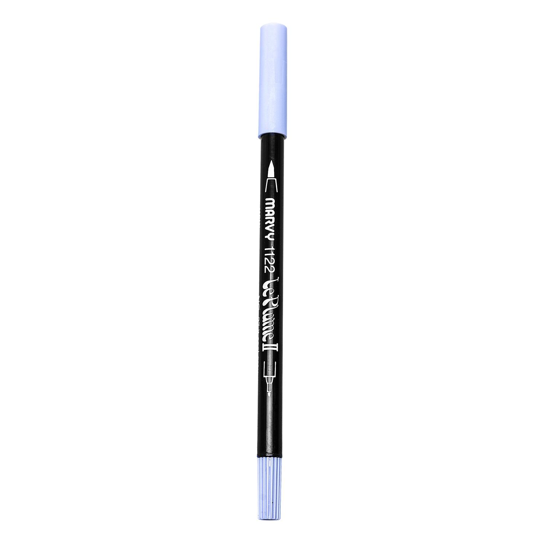 Bút Lông Hai Đầu Marvy 1122 No.37 - Light Cool Grey