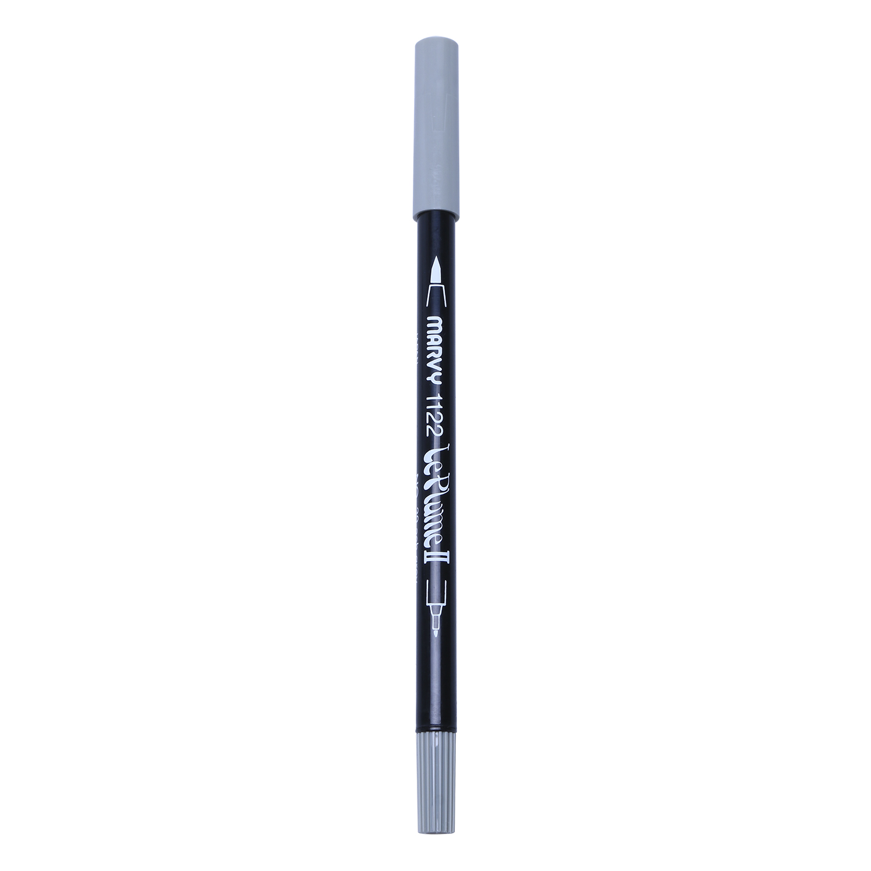 Bút Lông Hai Đầu Marvy 1122 No.39 - Ash Grey