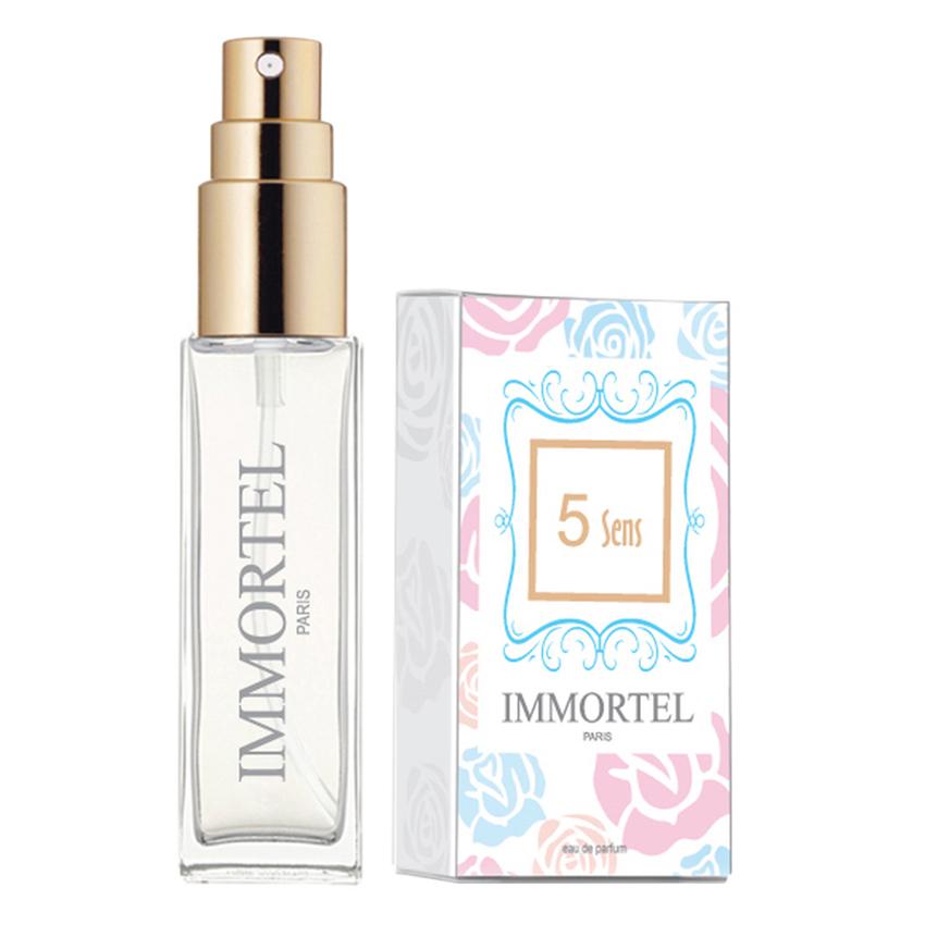 Nước Hoa Nữ Immortel Paris 5 Sens  Eau De Parfum .Dung Tích 8ml- Phong cách quyến rũ, cuốn hút, gợi cảm - 0603A