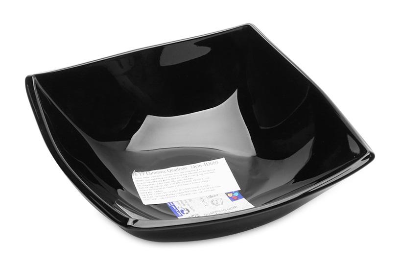 Tô Thủy Tinh Luminarc Quadrato Noir H5036 - (16cm)