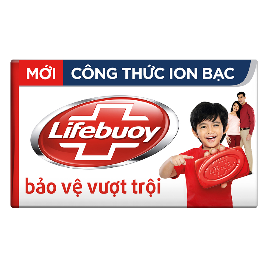 Xà Bông Cục Lifebuoy Bảo Vệ Vượt Trội 21126123 (125g)