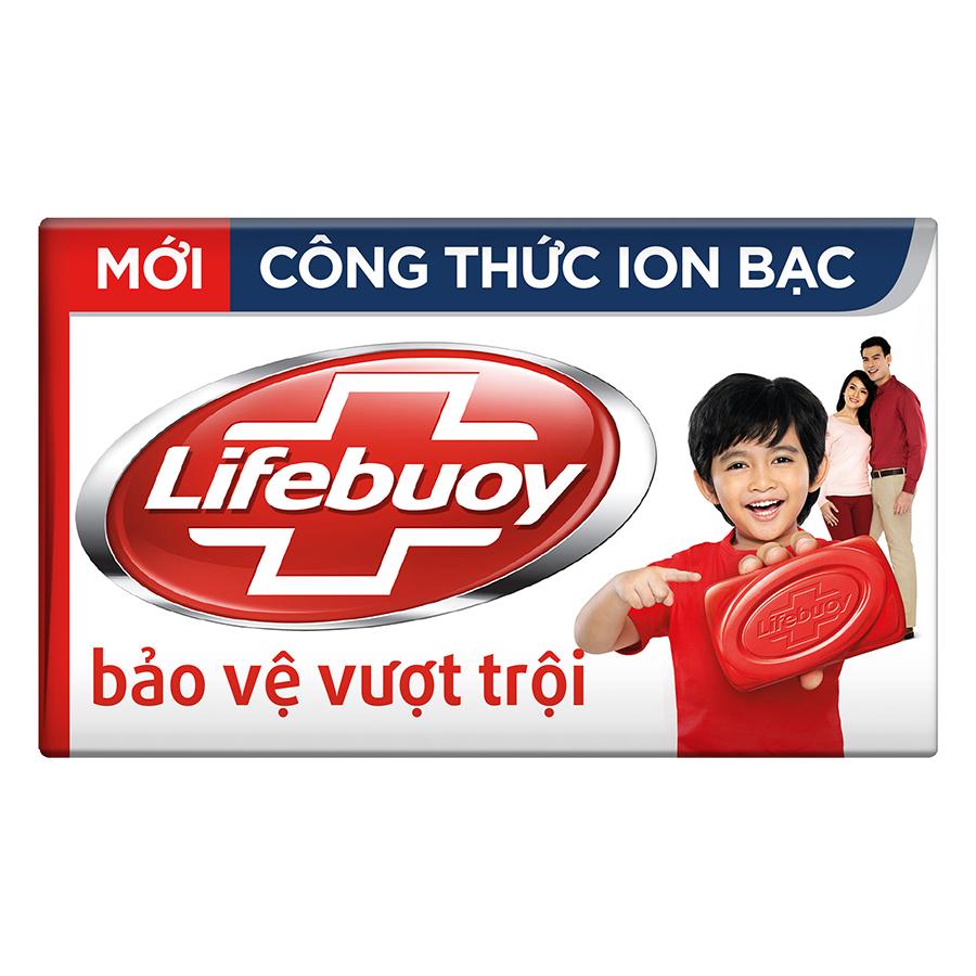 Xà Bông Cục Lifebuoy Bảo Vệ Vượt Trội 21126121 (90g)