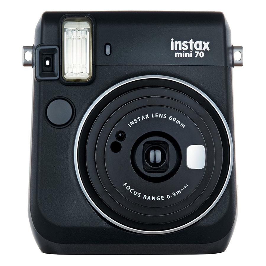 Máy Ảnh Selfie Lấy Liền Fujifilm Instax Mini 70 - Đen - Hàng Chính Hãng