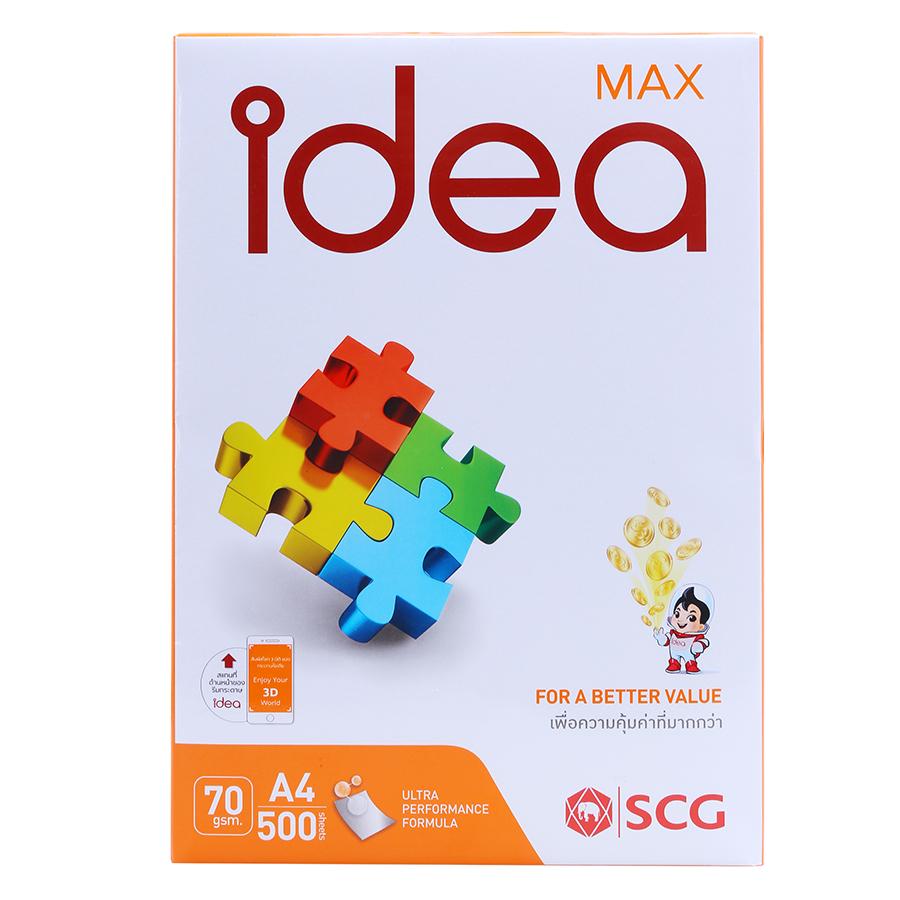 Giấy Photo Idea A4 DL70