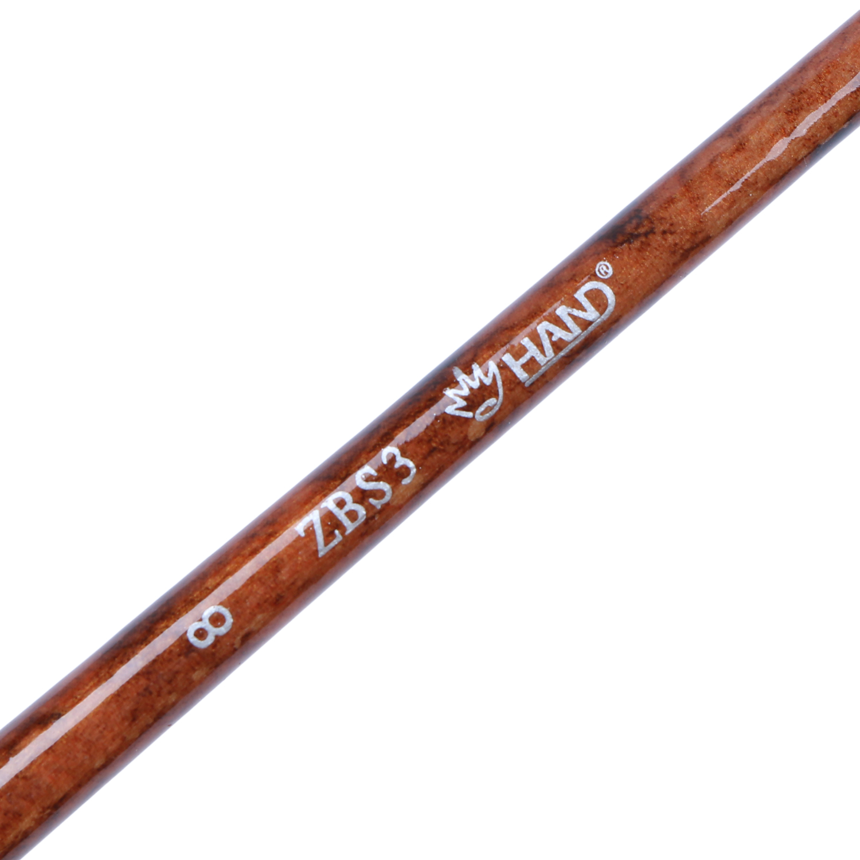 Cọ Vẽ Màu Nước Đầu Dẹt Oval Hand 8_ZBS3