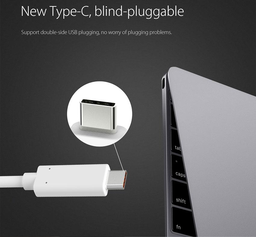 Đầu Chuyển Đổi Type C Sang HDMI Orico RCH-GD - Hàng Chính Hãng
