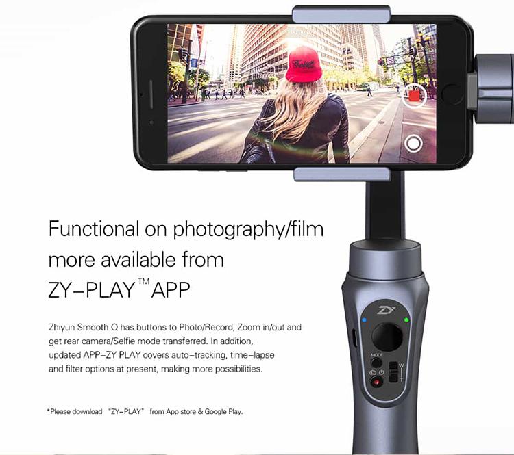Cầm Tay Chống Rung Zhiyun Smooth Q Cho Smartphone