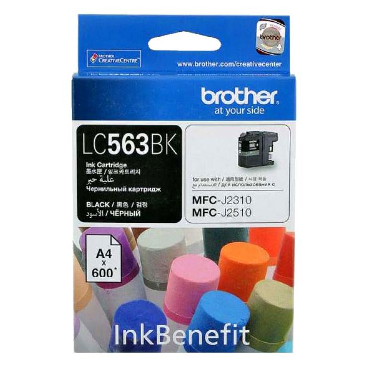 Brother LC-563BK Ink Cho MFC-J2310/J2510/J3520/J3720 (Black) - Hàng Chính Hãng