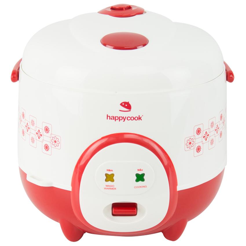 Nồi Cơm Điện HappyCook HC-180A - Đỏ - Hàng chính hãng