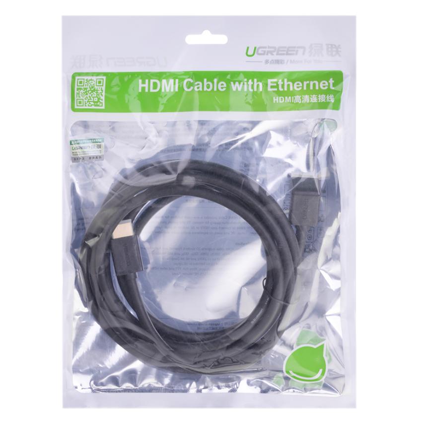 Cáp HDMI Ugreen (10173) - 2m - Hàng chính hãng