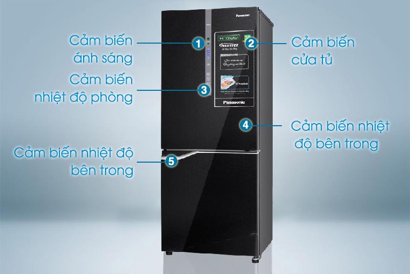 Tủ Lạnh Inverter Panasonic NR-BV288GKVN (255L) - Đen