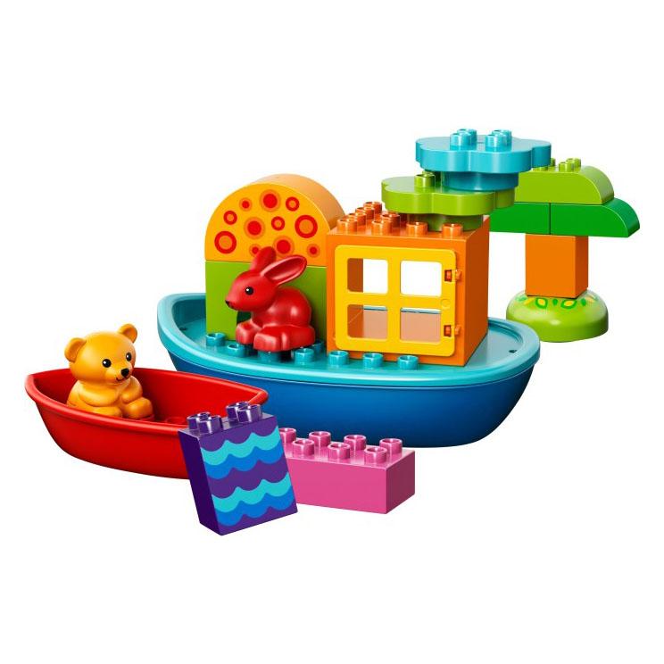Mô Hình LEGODUPLO - Khởi Đầu Lắp Ráp Tàu Thuyền 10567