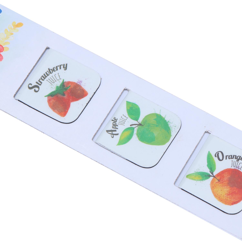 Bộ 3 Bookmark Nam Châm Kính Vạn Hoa - Good Drink 1