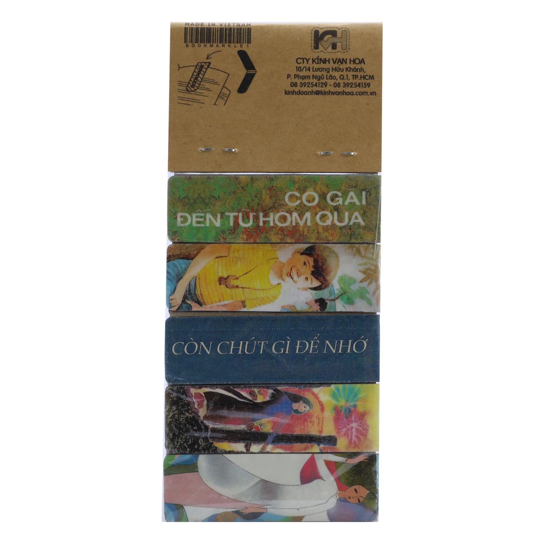 Bộ 5 Bookmark Nam Châm Kính Vạn Hoa - Tác Phẩm Của Nguyễn Nhật Ánh (Bìa Cũ)